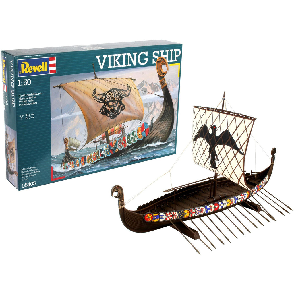 Revell-of-Germany-1-50-Viking-Ship