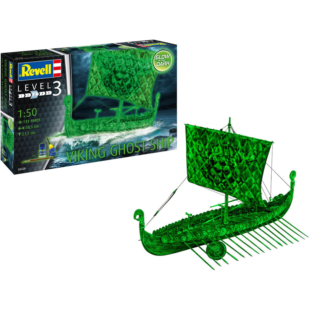 Revell-of-Germany-1-50-Viking-Ghost-Ship