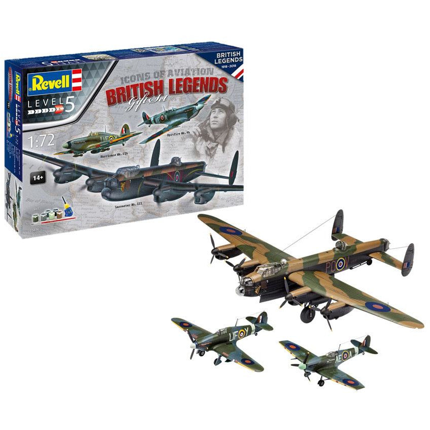 Revell-of-Germany-1-50-100-Years-RAF-British-Legends
