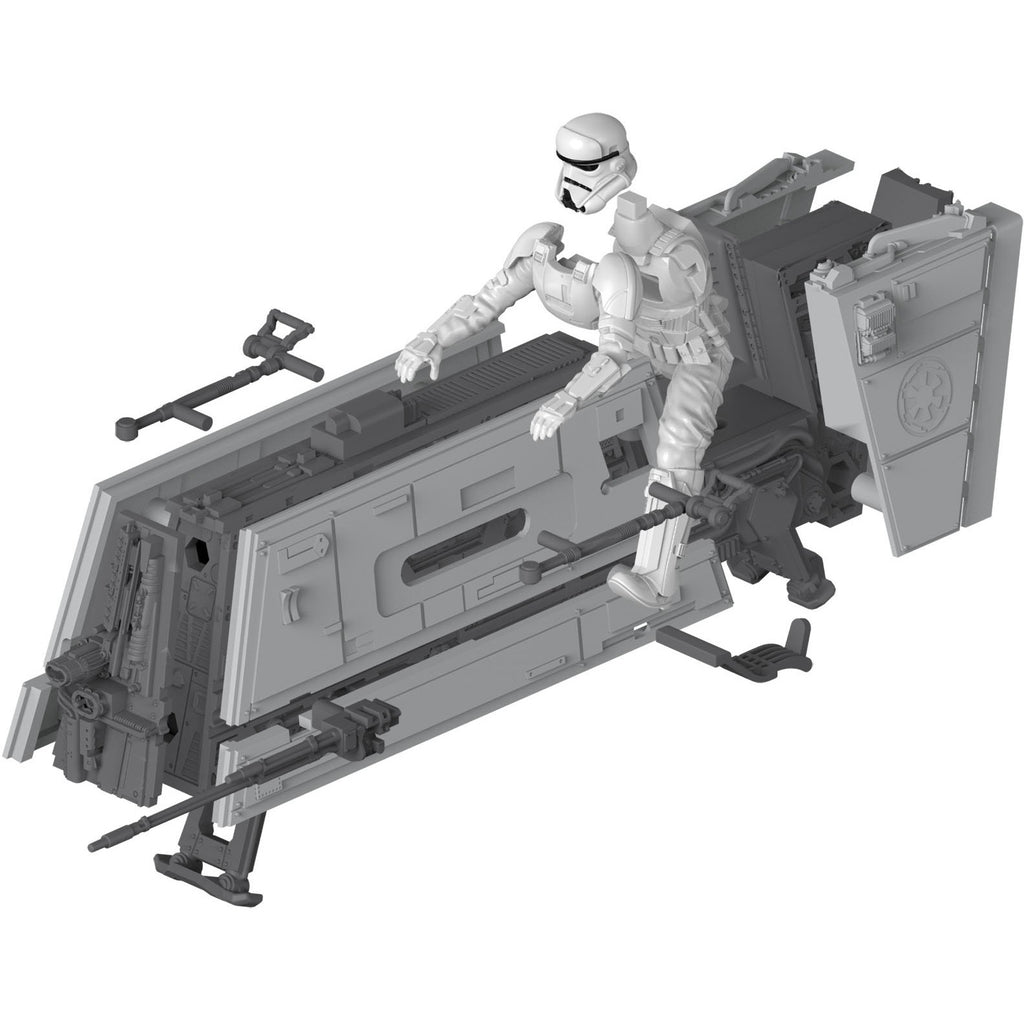 Revell-of-Germany-1-28-Star-Wars-Modellbau-Imperial-Patrol-Speeder