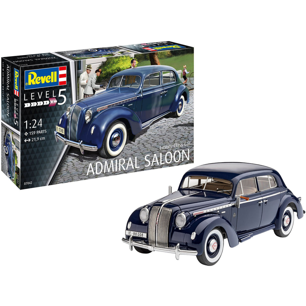 Revell-of-Germany-1-124-Luxury-Class-Car-Admiral-Saloon