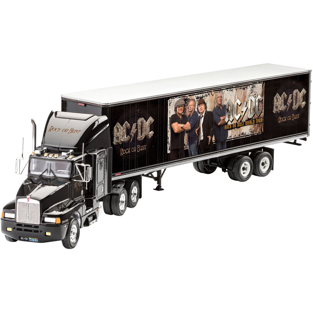 Revell-of-Germany-1-124-Truck-Trailer-ACDC-Limited-Edition