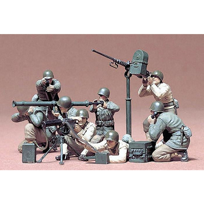 Tamiya 1-35 US GUN AND MORTAR TEAM KIT
