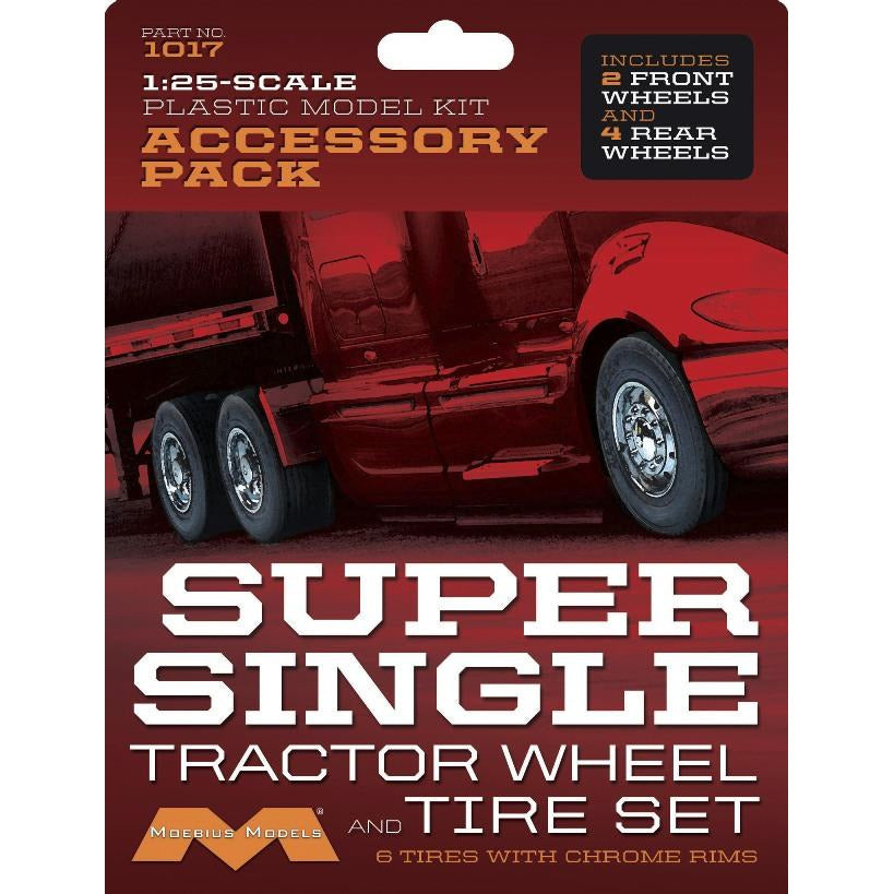 Moebius-1017-Super-Single-Tractor-Wheel-Tire-Set-1-25-scale
