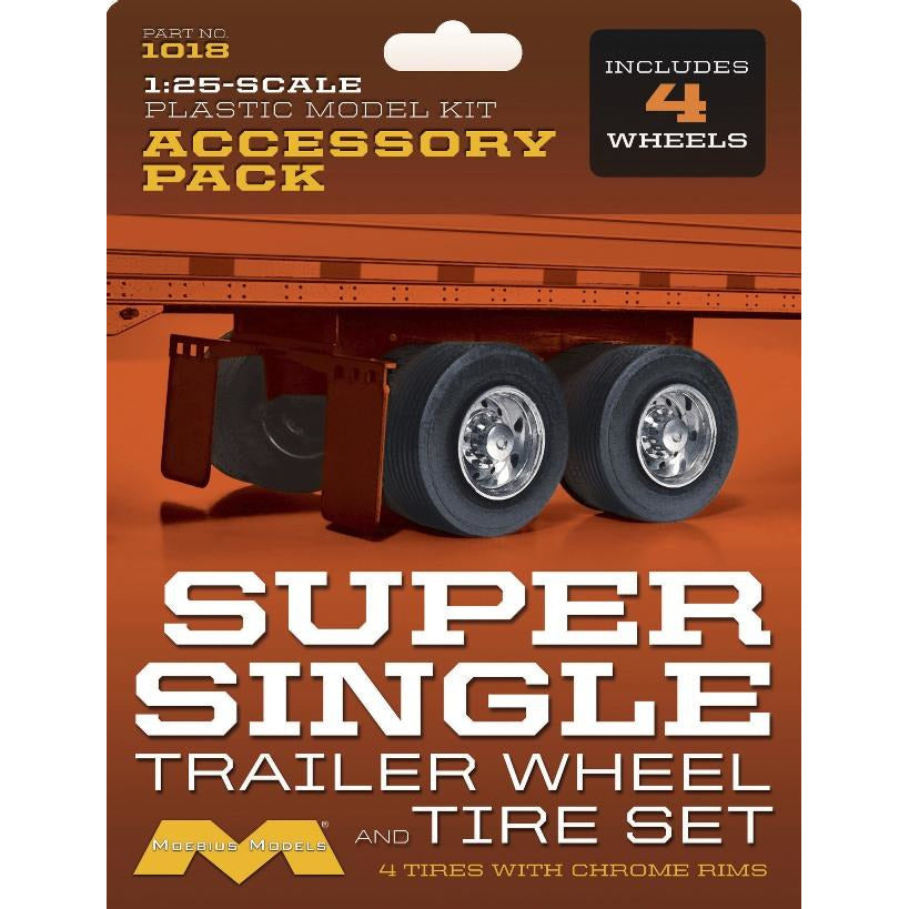 Moebius-1018-Super-Single-Trailer-Wheel-Tire-Set-1-25-scale