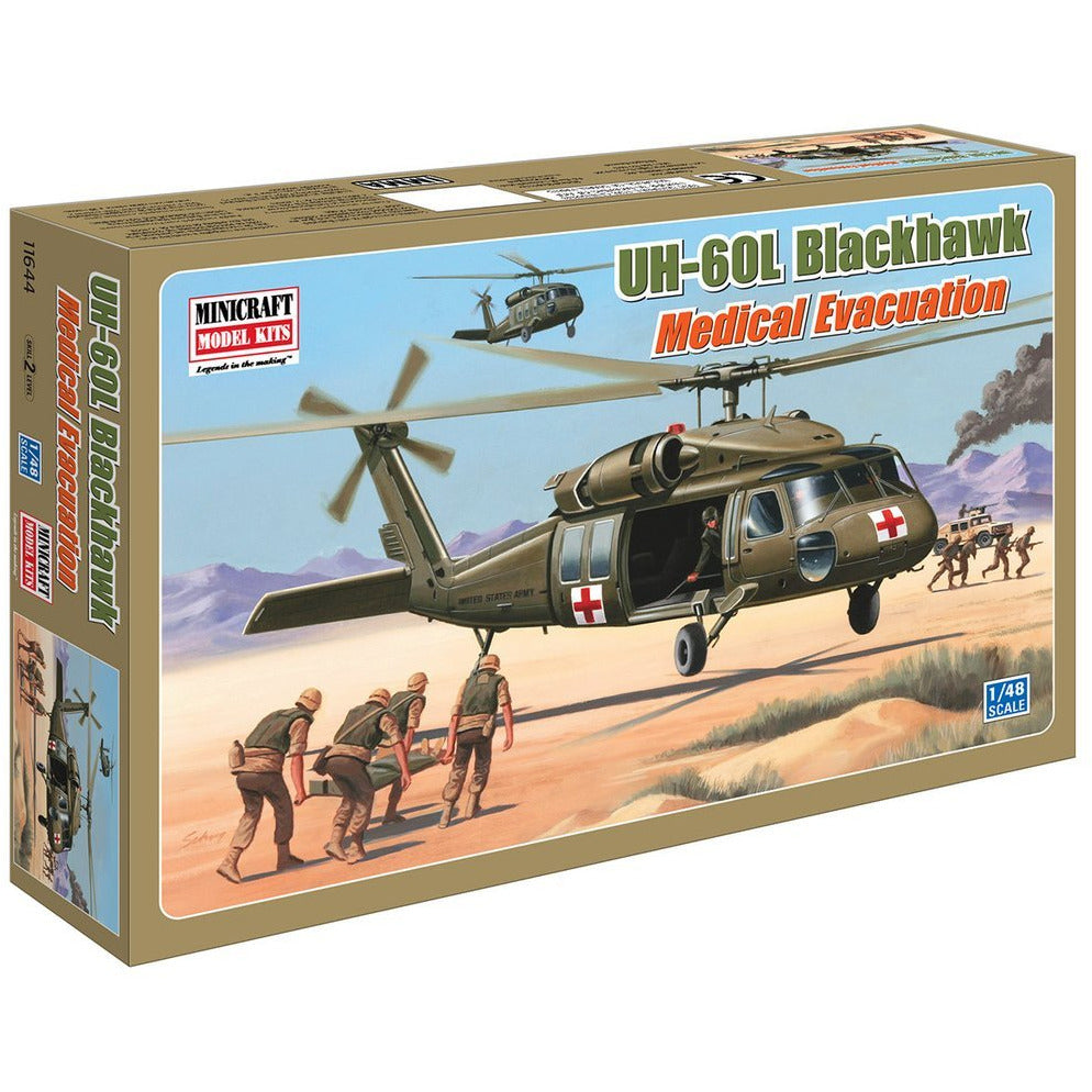 Minicraft-11644-1-48-UH-60L-Blackhawk-Medivac