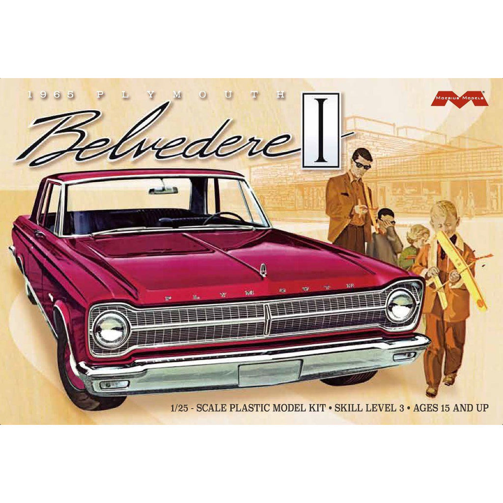 Moebius-1218-1965-Plymouth-Belvedere-1-25-scale