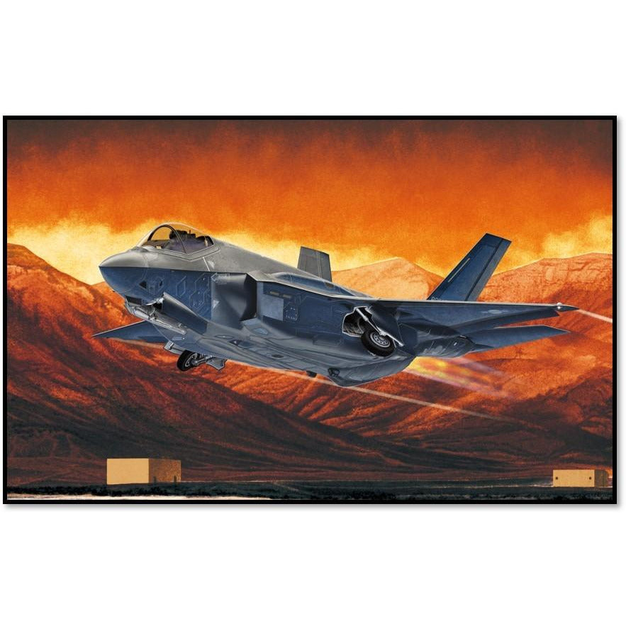 "Academy 1:72 12561 1/72 F-35A ""Seven Nation Air Force"""