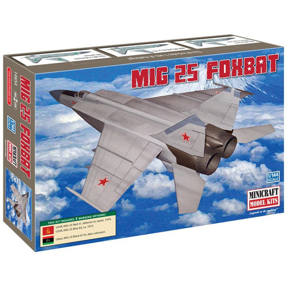 Minicraft-14654-1-144-MIG-25-Foxbat-USSRLibya-3-options