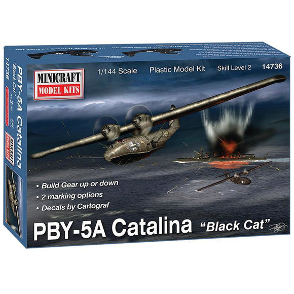 Minicraft-14736-PBY-5A-Catalina