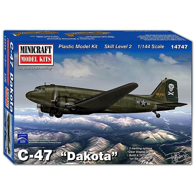 Minicraft-14747-1-144-C-47-Dakota