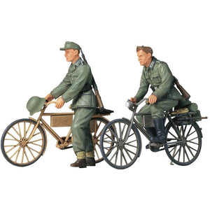 Tamiya 1:35 German Soldiers With Bicycles