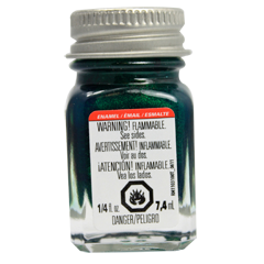 Testors Enamel Paints Flake Green - Metallic