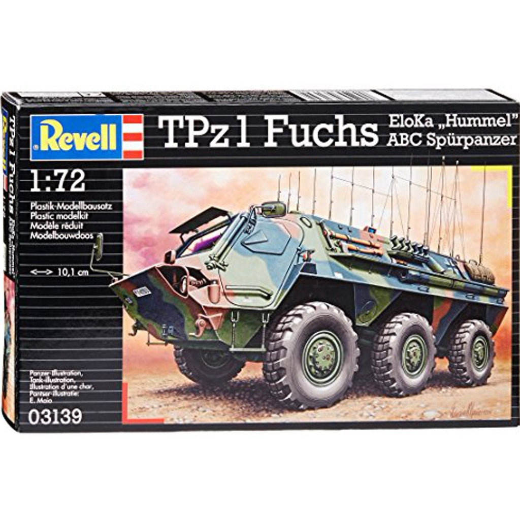 Revell 803139 1:72 Fuchs A1 Eloka/ABC Model Kit