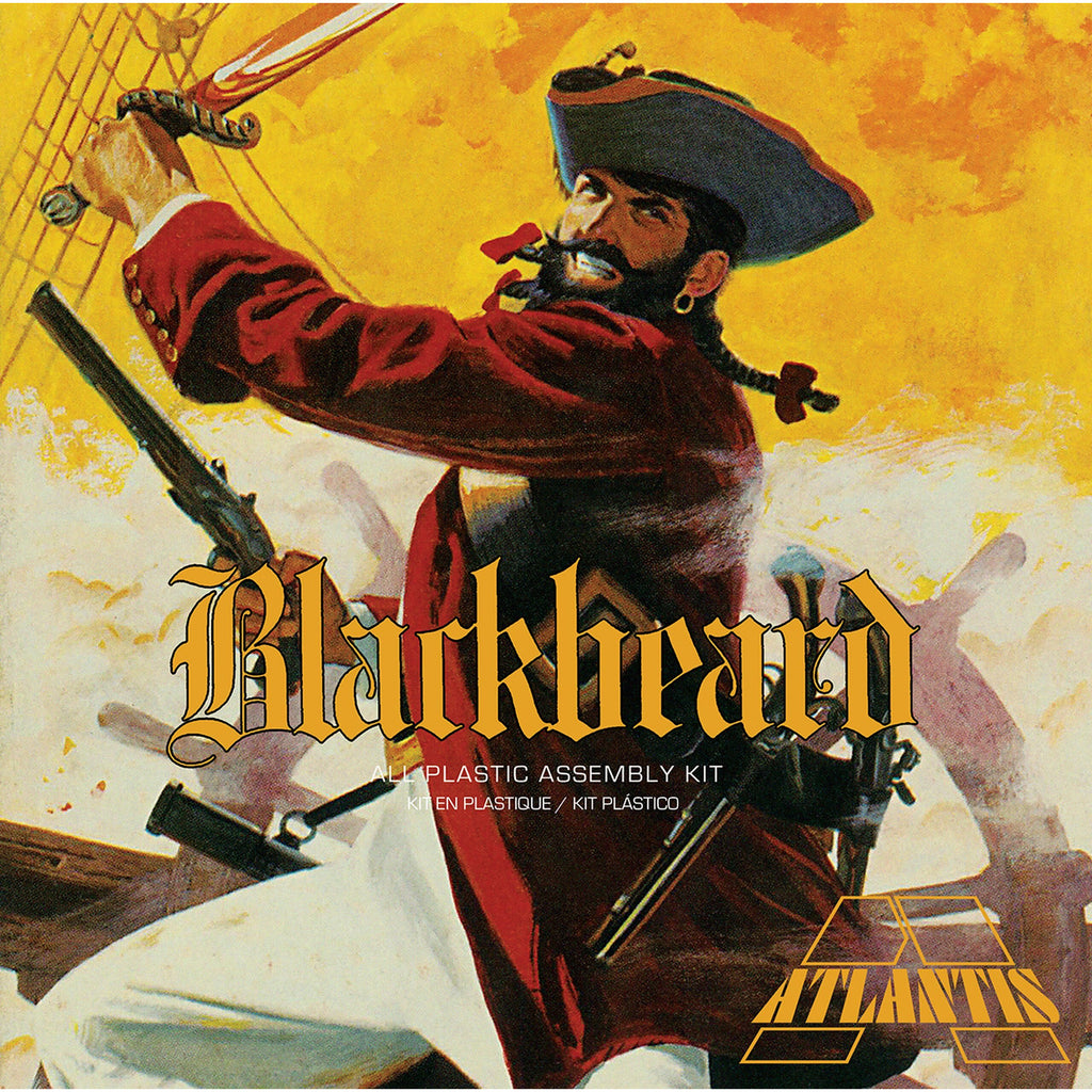 Atlantis 1/10 Blackbeard the Bloodthirsty Pirate 1/10 Plastic Model Kit