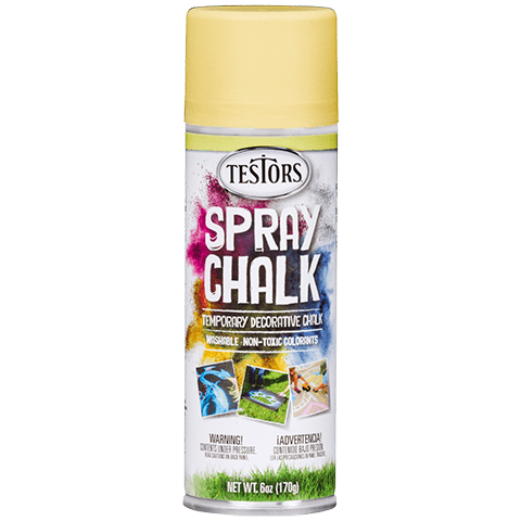 Testors SPRAY CHALK YELLOW