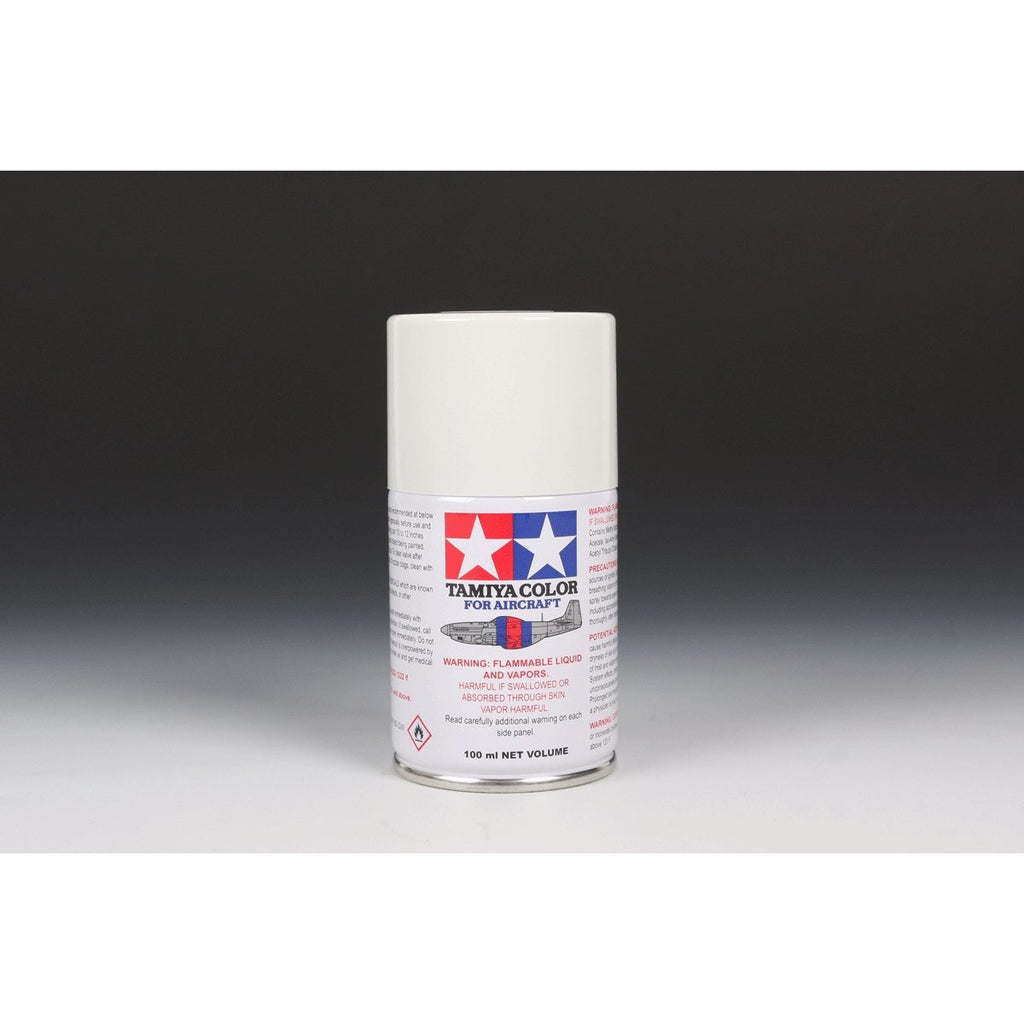 As-20 Insignia White (Usn) 100Ml Spray Can / Tamiya USA