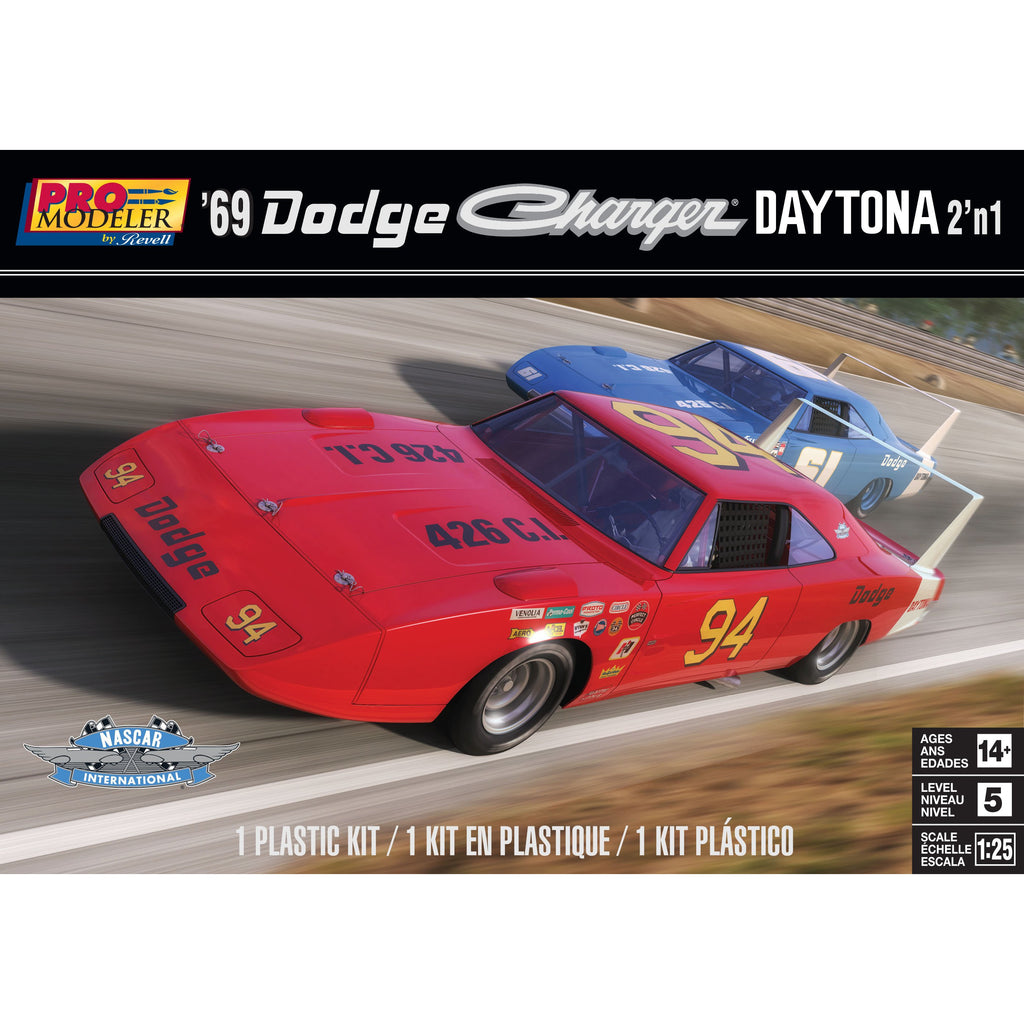 Revell 1/25 '69 Dodge Charger Daytona 2n1