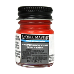 Testors Acrylic Paint Chevy Engine Red - Gloss