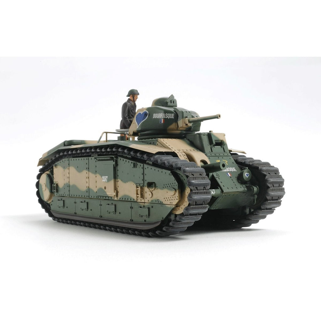 Tamiya 1/24 French Battle Tank B1 Bis