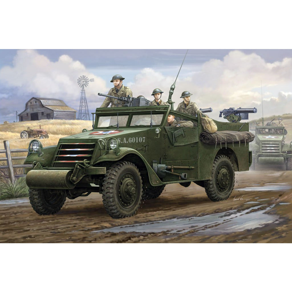 "Hobby Boss 1:35 U.S. M3A1 ""White Scout Car"" Early Production 82451"