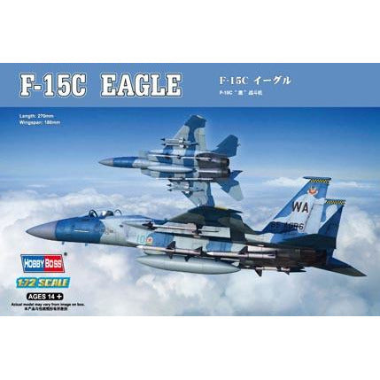 Hobby Boss 1:72 F-15C Eagle Fighter 80270