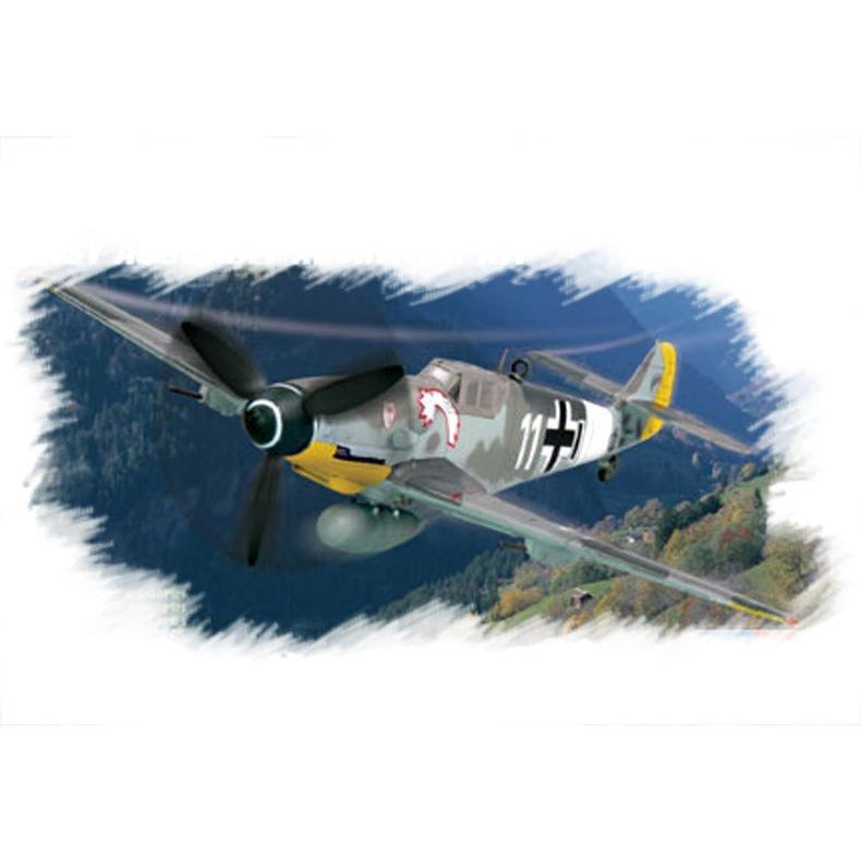 Hobby Boss 1:72 Bf109 G-6 (early) 80225