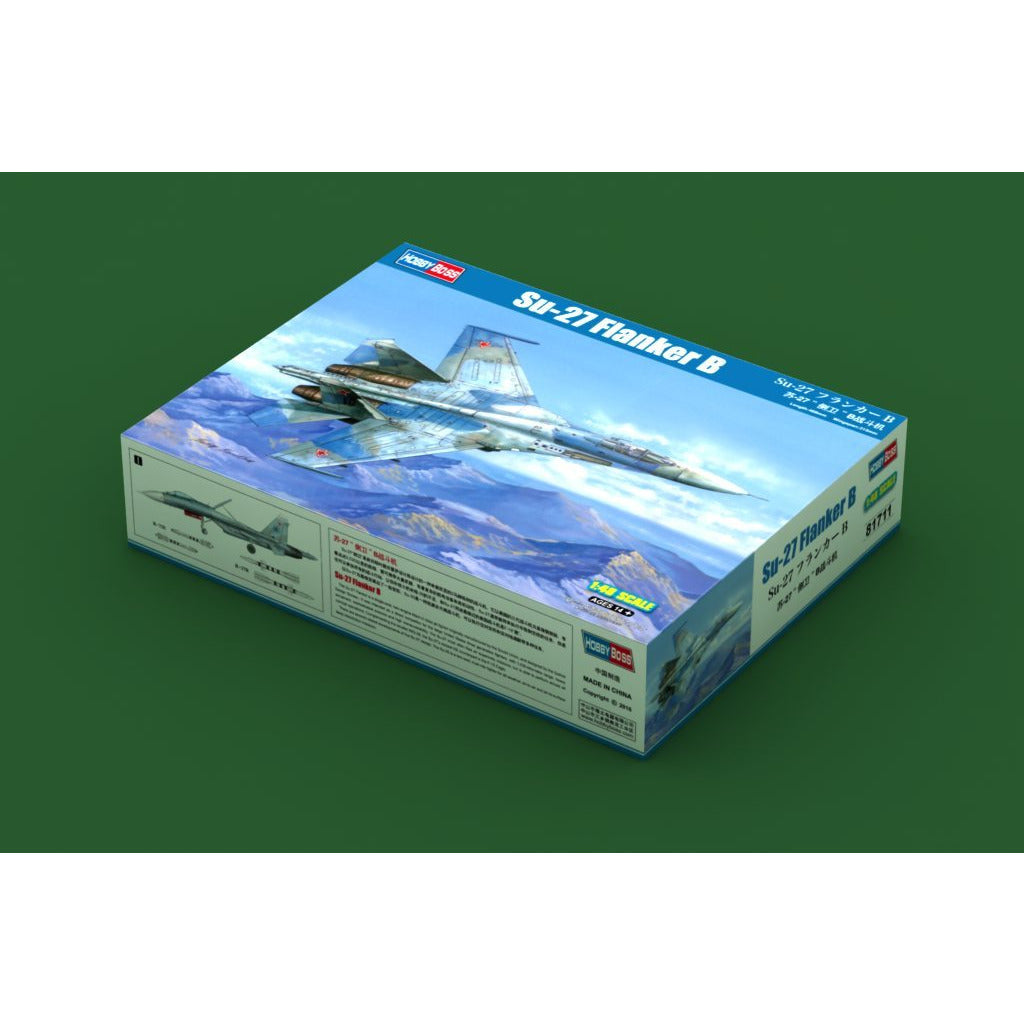 Hobby Boss 1:35 Su-27 Flanker Early 81712
