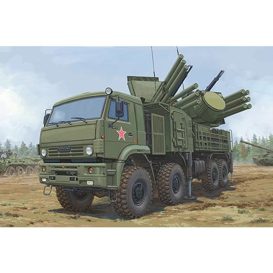 Trumpeter 1:35 Russian 72V6E4 Combat Vehicle of 96K6 Pantsir -S1 ADMGS 01060