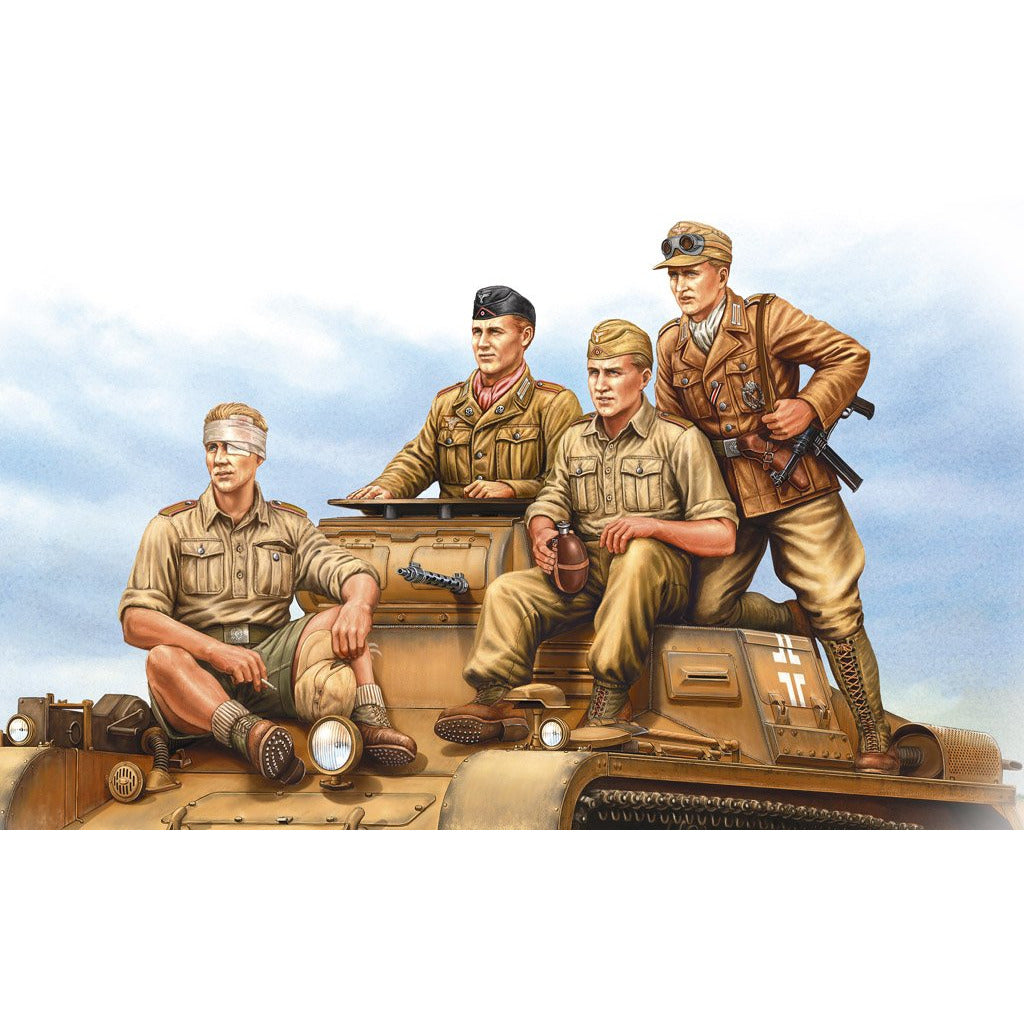 Hobby Boss 1:35 German Tropical Panzer Crew 84409