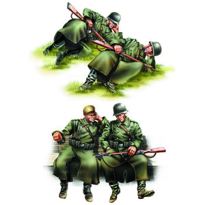 Hobby Boss 1:35 GERMAN INFANTRY-Taking a rest 84420