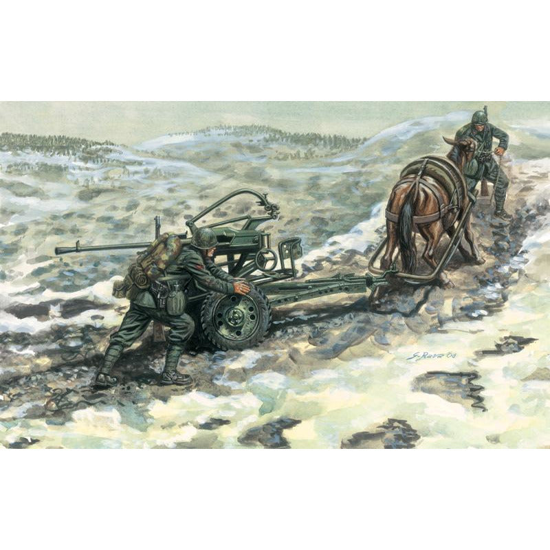 Italeri-1-35-HORSE-DRAWN-BREDA-2065-WSERVANTS