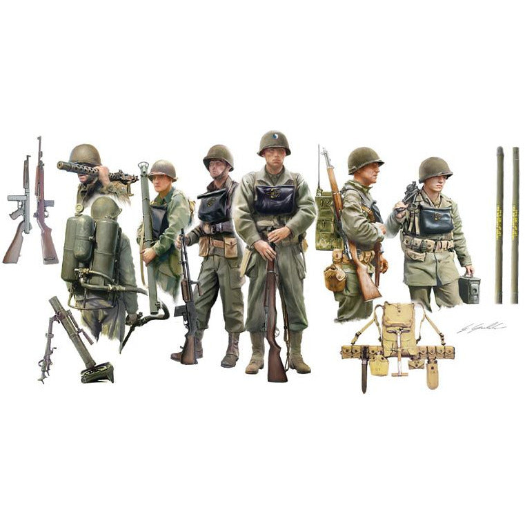Italeri-1-35-US-INFANTRY-ON-BOARD
