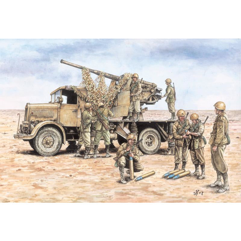 Italeri-1-72-AUTOCANNONE-3RO-with-9053-AA-GUN-FAST-ASSEMBLY