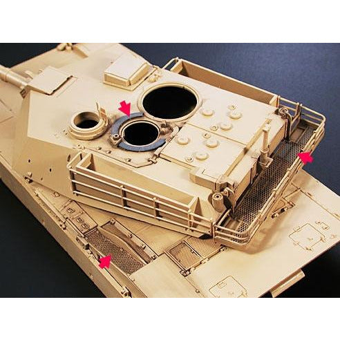 Tamiya 1:35 Us Abrams Photo Etched Parts