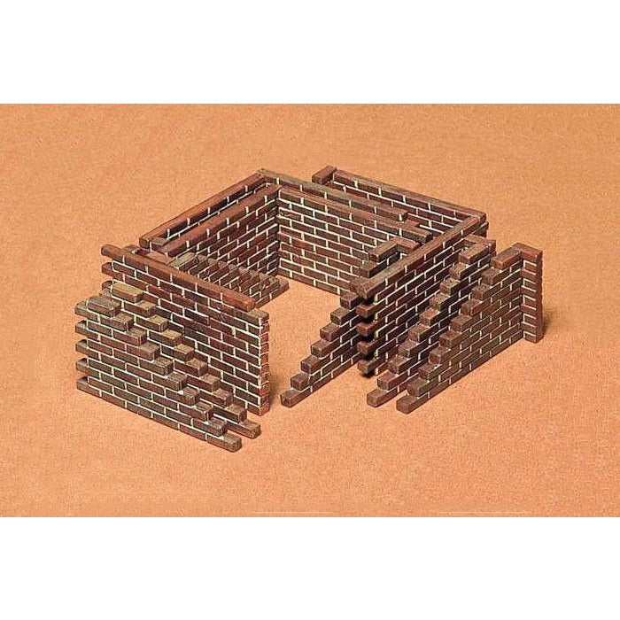 Tamiya 1-35 BRICK WALL SET KIT