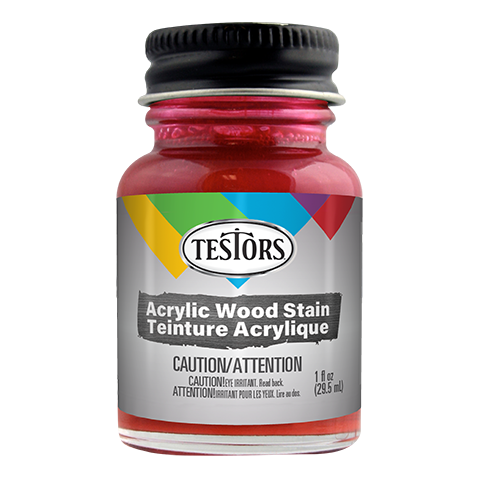 Testors Acrylic Barn Red Stain