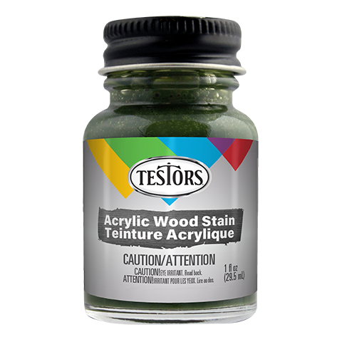 Testors Acrylic Olive Green Stain