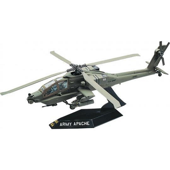 Revell AH64 Apache Helicopter Scale 1:72 model kit