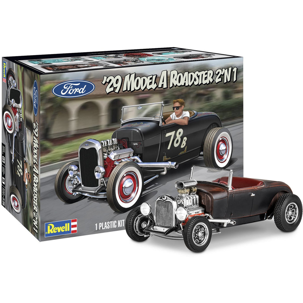 Revell 1929 Model A Roadster 2'N1 Scale 1:25 model kit