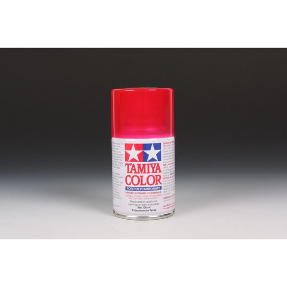 Ps-37 Translucent Red 100Ml Spray Can / Tamiya USA