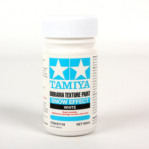 Diorama Texture Paint 100Ml Snow Effect / Tamiya USA