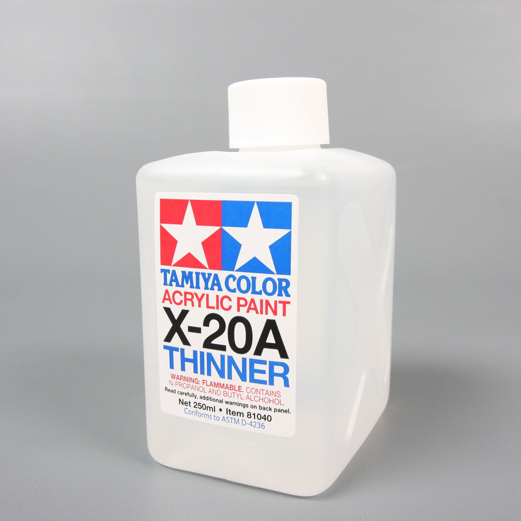 Acryl/Poly Thinner X-20A 250Ml none / Tamiya USA