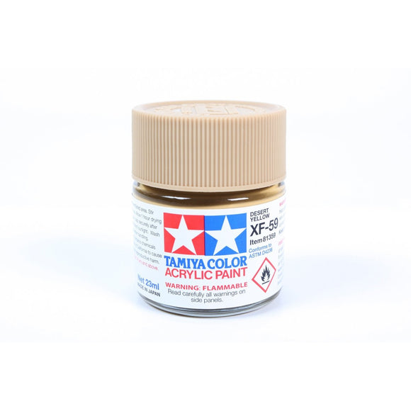 Acrylic Xf-59 Desert Yellow 23Ml Bottle / Tamiya USA