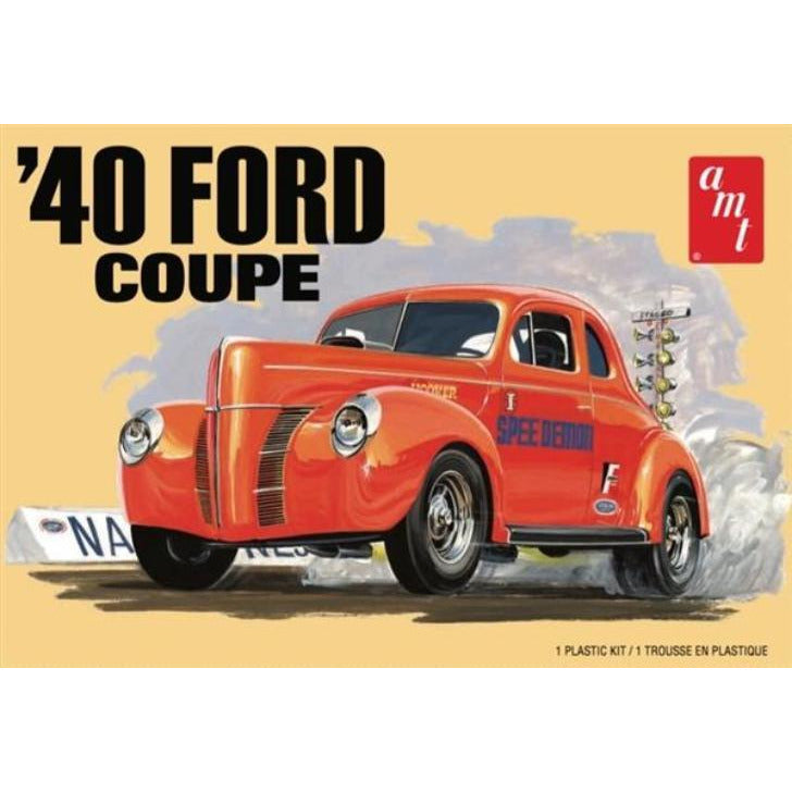 AMT 1-25 1940 Ford Coupe Plastic Model Kit