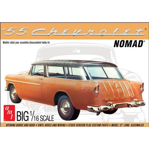 AMT 1-16 1955 Chevy Nomad Wagon Model kit