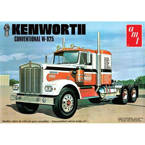 AMT 1-25 Kenworth W925 Conventional Model Kit
