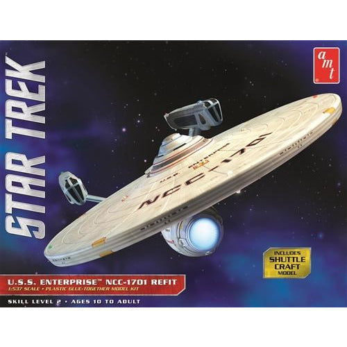 AMT 1-537 Star Trek USS Enterprise NCC-1701 Refit
