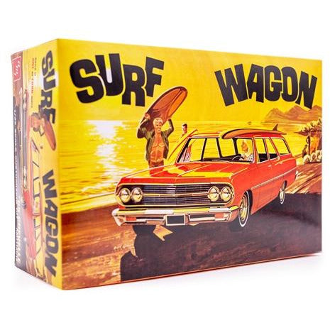 AMT 1-25 1965 Chevelle Surf Wagon Model Kit