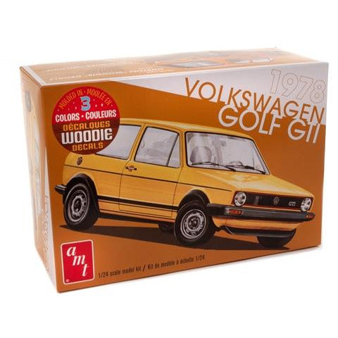 AMT 1-24 1978 VW Golf GTI Model Kit